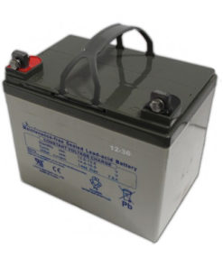 36 hole electric battery
